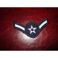 Нашивка рядовой ВВС США 100% оригинал