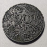 Польша, 20 грошей 1923 год.