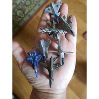 Набор мини- самолетиков металл 7 шт.