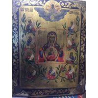 Икона Божией Матери Курская - Коренная. Живопись по Золоту, тонкое Красивое Письмо.