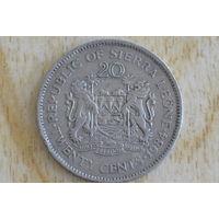Сьерра-Леоне 20 центов 1984