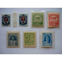 Чистые марки раннего периода СССР! 1922-27гг.! В состоянии, с разновидностями!