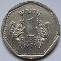 1 рупия 1986 Индия