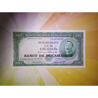 Мозамбик 100 эскудо 1961г