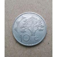Намибия 10 центов 1993 (Republic of Namibia 10 cents 1993)
