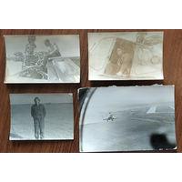 Фото из жизни вертолетчиков. 4 фото. Цена за все.