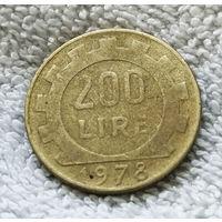 200 лир 1978 Италия #01