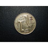Кипр 2 цента 1994