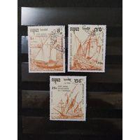 Камбоджа парусники флот (4-3)