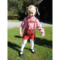 Баварские шортики кожаные, лет на 5