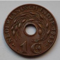 Нидерландская Индия, 1 цент 1945 г. Р