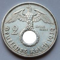Германия, 2 марки 1939 А (серебро)