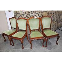 Старинные АНГЛИЙСКИЕ стулья очень удобные 4 шт