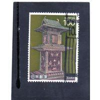 Япония. Mi:JP 1857. Храм Тамамуши, Хрюй-дзи, Нара, 7 век. 1989.