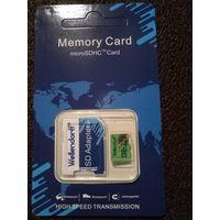 Карта памяти MicroSDHC 32Gb class 10