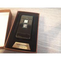 Электро импульсная USB зажигалка, сенсорная