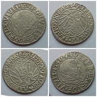 Грош 1541 года, Пруссия, Бранденбург, Альберт пятый, Гогенцолерн!!! Редкая монета, отличное состояние XF++>AU!!!