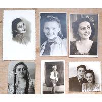 Фото девушки-артистки. Начало 1950-х. Цена за все
