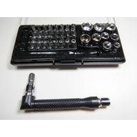 Набор инструментов (бит и головок торцевых) Extra EX-8042 44шт! Новый