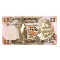 Замбия 2 Квача UNC