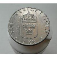 1 крона 1988 Швеция