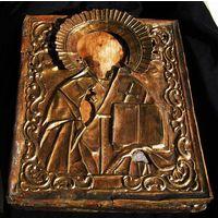 Икона Св. Николай XIX под реставрацию