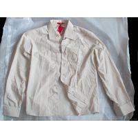 Рубашка мужская, новая, размер 52-54 (XL), Angeleterra (Турция)