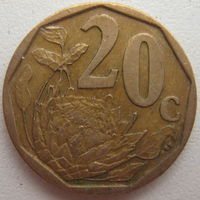 ЮАР 20 центов 2008 г. (g)