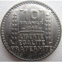 F.362-3 10 франков 1948 в холдере