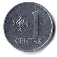 Литва. 1 цент. 1991 г.
