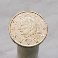 Бельгия 50 евроцентов 2011 (3-й тип)