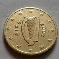 10 евроцентов, Ирландия 2004 г.