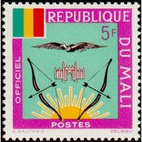Михель ML D15 МАЛИ 1964 Герб Флаг **