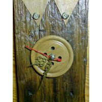 Дизайнерские часы ручной работы