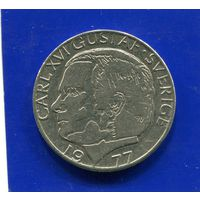 Швеция 1 крона 1977
