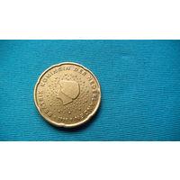 Нидерланды 20 евро центов 1999г.   распродажа