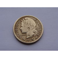 Французский Камерун. 50 сантим 1925 год  КМ#1  Редкая!!! Монета не чищена!!!