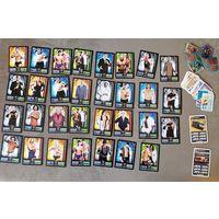 Коллекционные карточки: автомобили, спорт
