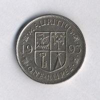 Маврикий, 1 рупия 1993 г.