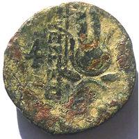 СЕЛЕВКИДЫ. АНТИОХ VII СИДЕТ (138-129 ДО Н.Э.) AE18.
