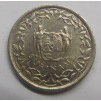 Суринам 25 центов 1988 г