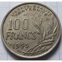 Франция 100 франков, 1955          ( 5-3-2 )