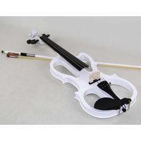 Электроскрипка белая