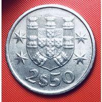 30-29 Португалия, 2,5 эскудо 1984 г.