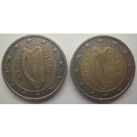 Ирландия 2 евро 2002 г. Цена за 1 шт.