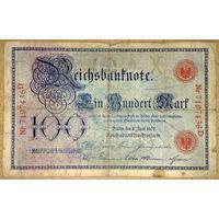 100 марок 1907г -редкая-