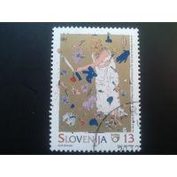 Словения 1995 графика,