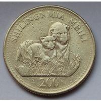 Танзания, 200 шиллингов 2008 г.