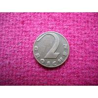 Австрия 2 гроша 1937 г. :