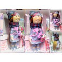 Вита) Текстильная кукла ручной работы